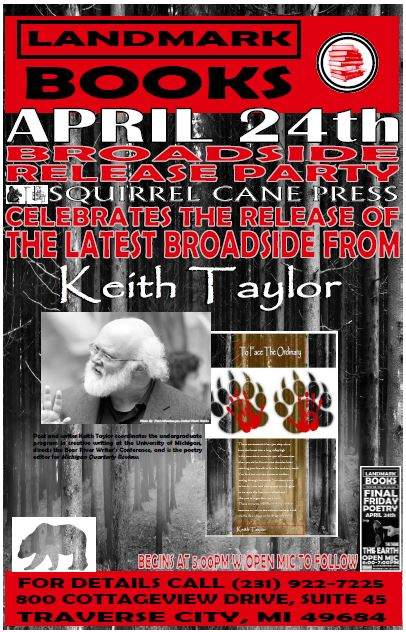 Taylor Broadside Release Party